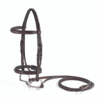 Vespucci Fancy Raised Padded Hunter Bridle