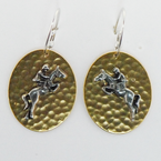 Finishing Touch Gold Disc Earrings