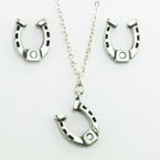 Finishing Touch Horseshoe Jewelry Set