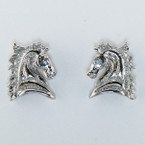 Finishing Touch Horse Head Profile Earrings