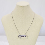Michel McNabb Free Jump Horse Necklace