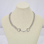 Michel McNabb Large Bit Curb Chain Necklace