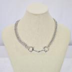 Michel McNabb Large Bit Curb Chain Necklace
