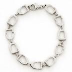Michel McNabb Stirrup Link Bracelet