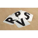 Letters for Dressage Markers - 4 Pack