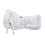 Shires SupaFleece Half Pad - White