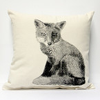 Eric & Christopher Medium Pillow - Fox