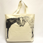 Eric & Christopher Tote - Kissing Horses