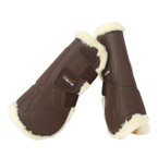 Tekna® Synthetic Sheepkin-Lined Tendon Boots - Brown