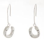 Michel McNabb Horseshoe Drop Earrings