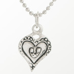 Michel McNabb Horseshoe Heart Necklace