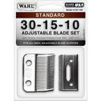 Wahl Standard Adjustable Blade Set - 30-15-10