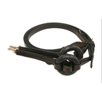 Tory Rubber Donut Leather Side Reins