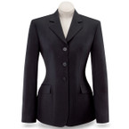 RJ Classics Ladies Devon Show Coat - Black