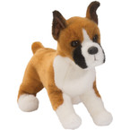 Douglas Bruschi Boxer Stuffed Dog