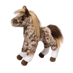 Douglas Mosaic Brown Dapple Stuffed Foal