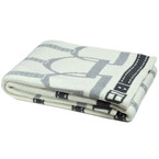 Eco Stirrup Throw Blanket - Milk/Alum