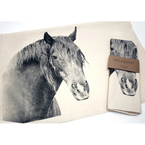 Eric & Christopher Horse #2 Tea Towel
