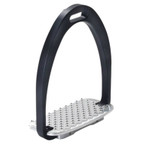 Tech Stirrups Diana Hunter Iron - Black