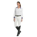 Ovation Bellissima Ladies Full Seat Breech - White