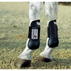 Eskadron Open Front Boots - Horse - Black