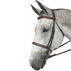 Henri De Rivel Pro Monocrown Fancy Stitched Padded Bridle