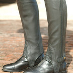 Ovation Adult Top Grain Leather Half Chaps