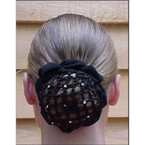 Dressage Hair Net Scrunchie