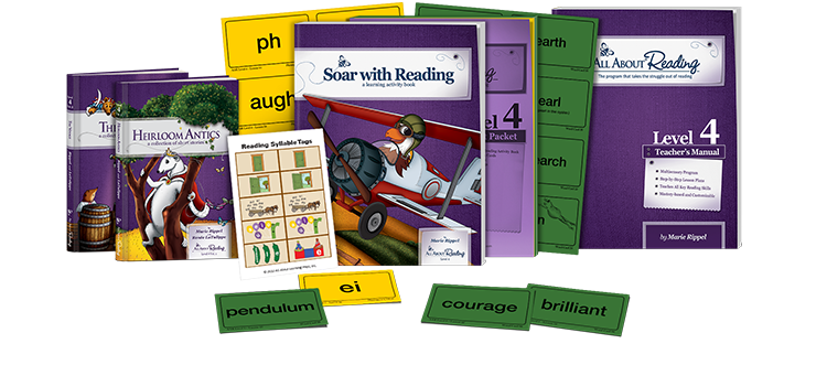 All About Reading Level 4