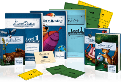 All About Reading Materials