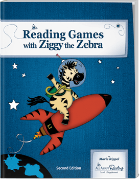 All About Reading Reading Games with Ziggy the Zebra