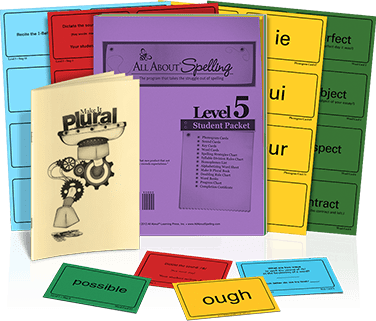 All About Spelling Level 5 Student Packet