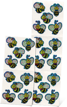 All About Spelling Bee Stickers