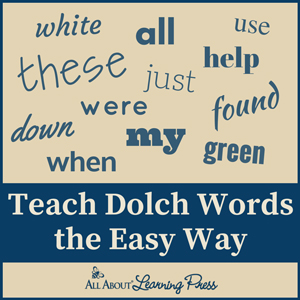 Teach Dolch Words the Easy Way