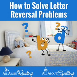 How to Solve Letter Reversal Problems