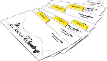 pre-reading divider cards