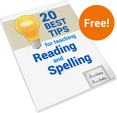20 best tips for teaching reading and spelling cover
