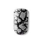 Dashing Diva - Metallic Crackle Nails - Heavy Metal