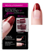 Dashing Diva - No Blend Tip Glitter-Red 96/Box
