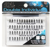 Ardell - Double Up Individuals Long Knot Free Black 72/Box