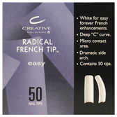 CND - Radical French Tips 50/Pack