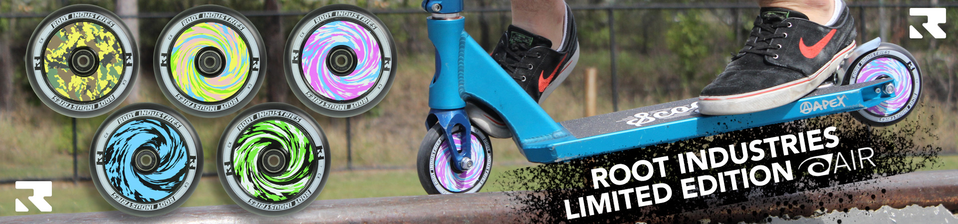 Root Industries Limited Edition AIR wheels   110 or 120mm