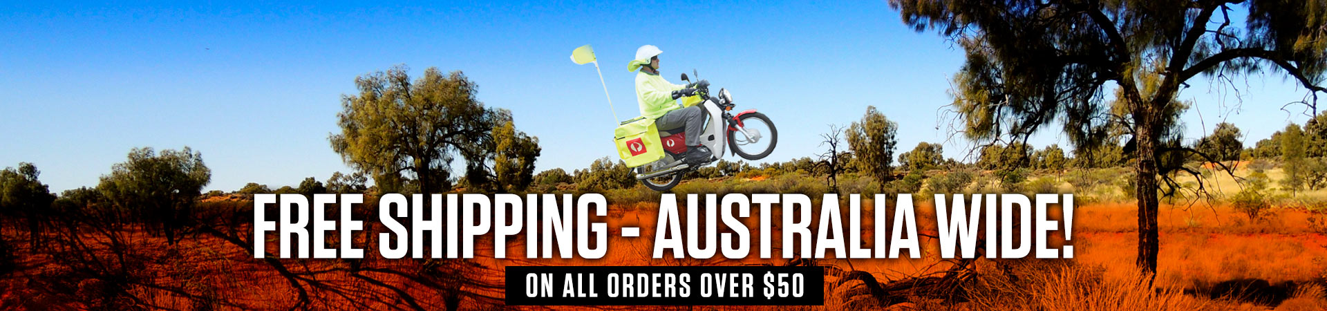 FREE SHIPPING - AUSTRALIA WIDE