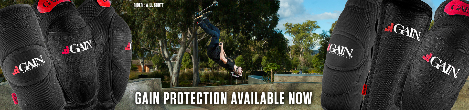 Gain Protection available at Scooter Hut