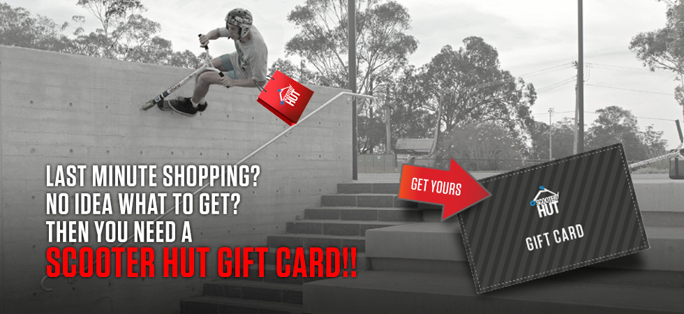 Get your Scooter Hut Gift Card Here!