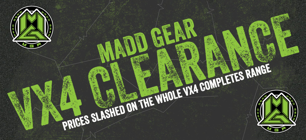 SAVE $$$$ on MGP VX4 in our massive clearance sale!