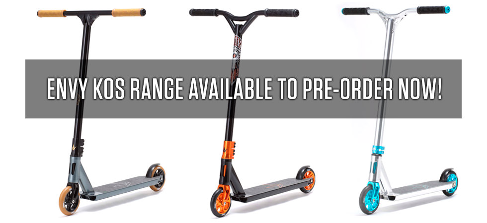 Envy KOS Scooters 2015 pre order now!