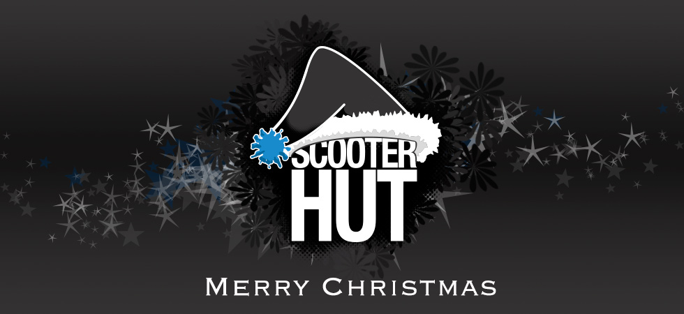 Have a very Merry Christmas from us all at Scooter Hut!!