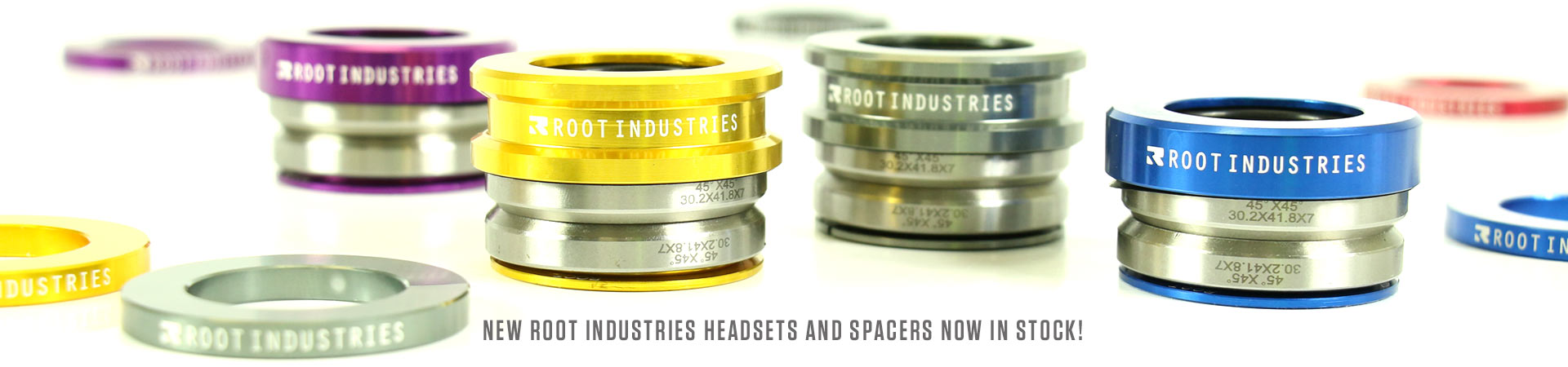 Root Industries AIR Headsets and Spacers NOW IN STOCK!
