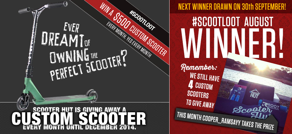 scootloot August winner!